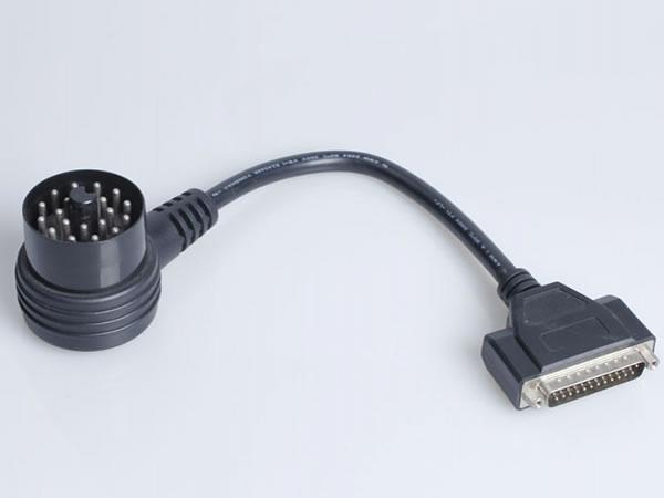 bmw 20 pin kabel 90 grad kurve diagnosestecker bennzs. Black Bedroom Furniture Sets. Home Design Ideas